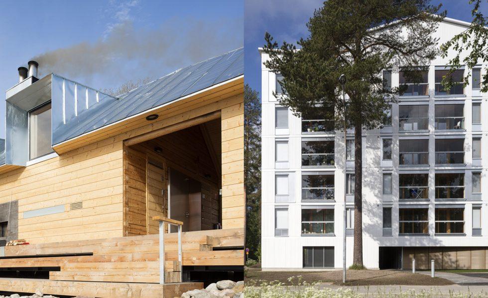 Good Lonna Sauna And Pihapetäjä Housing By OOPEAA Nominated For The Wood Award /  Puupalkinto 2017
